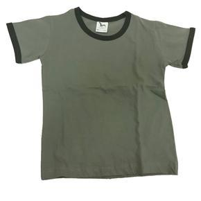 Chlapecké tričko krátký rukáv Rudolf khaki - 122
