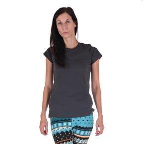 Dámské jednobarevné tričko Linty šedé