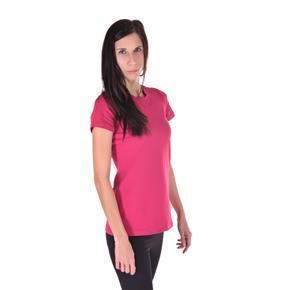 Dámské jednobarevné tričko Linty růžové
