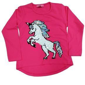 Růžové měnící tričko Lambert