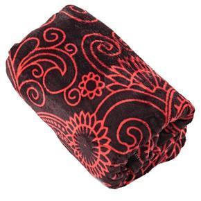 Hřejivá deka Tina červená 150 x 200