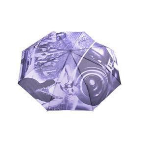 Luxusní skládací deštník Marilyn Monroe fialový