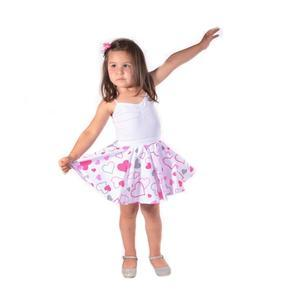 Dívčí kolová sukně Lucika