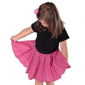 Dívčí kolová sukně Leona