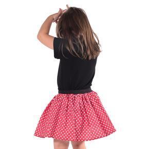 Dívčí kolová sukně Srdce