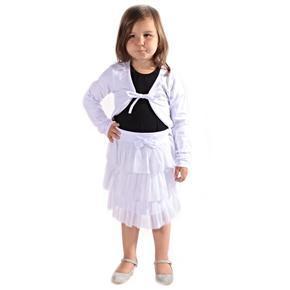 Dívčí bílé bolérko Danca
