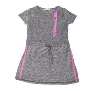 Dívčí letní sportovní šaty Valery šedé