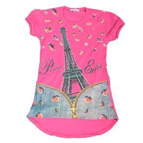 Moderní dívčí tričko s potiskem Wali