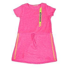 Dívčí letní sportovní šaty Valery růžové