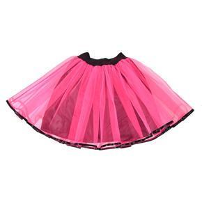 Tutu dámská sukně Marta neonově růžová