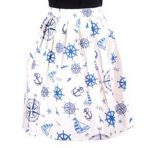 Zavinovací dámská sukně Ola