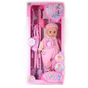 Panenka Laura s kočárkem růžová