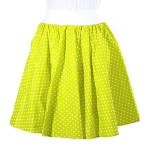Dámská kolová sukně Fresh zelená