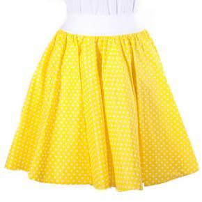 Dámská kolová sukně Fresh žlutá