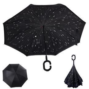 Obrácený deštník Black