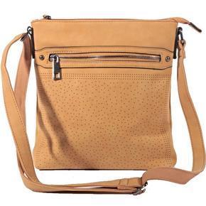 Elegantní kabelka crossbody Serafin hnědá