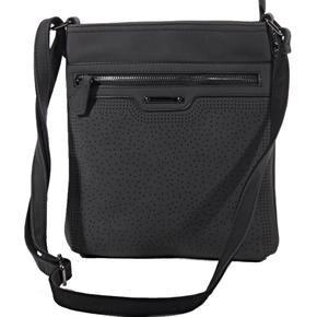 Elegantní kabelka crossbody Serafin černá