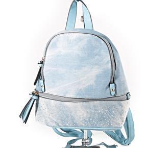 Riflový dámský batoh Aiko světe modrý