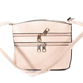Luxusní dámská crossbody kabelka Armin krémová
