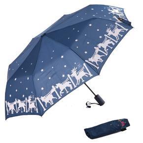 Malý skládací deštník Lucifer modrý