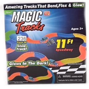 Svítící autodráha Magic Tracks