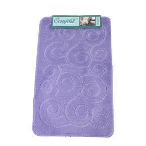Koupelnové předložky Rozy fialové set 3ks