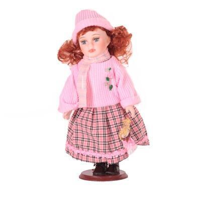 Doll porcelánová panenka Becky 30 cm