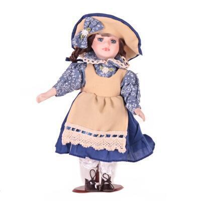 Doll porcelánová panenka Rosie 30 cm