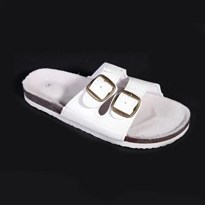 Pánské korkové pantofle Martin bílé