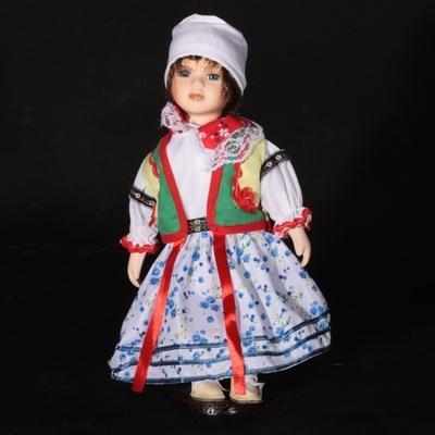 Doll porcelánová panenka Táňa 30 cm