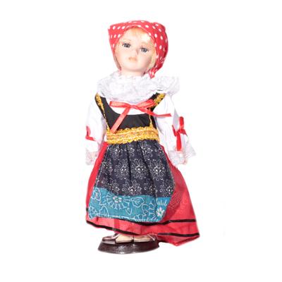 Doll porcelánová panenka Tonička 30 cm