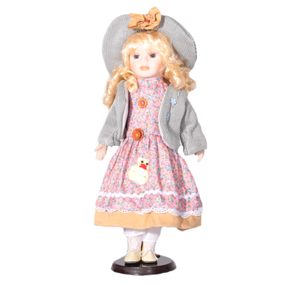 Doll porcelánová panenka Rozalinda 40 cm