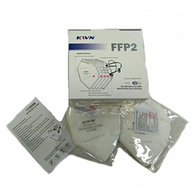 Respirátor FFP2 bílý bez výdechového ventilku