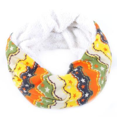 Žlutý tunelový šátek Holly F8