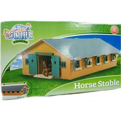 Velká dřevěná  stáj pro koně 1:32 Horse