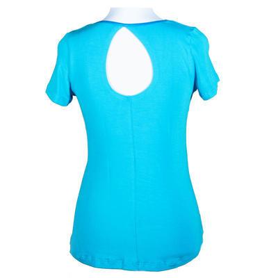 Modré tričko s krátkým rukávem Olivie - 1