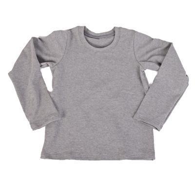 Melírované tričko Marlen tmavě šedé od 122-152