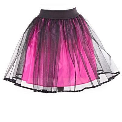 Tmavě růžová tutu sukně Marta - 1