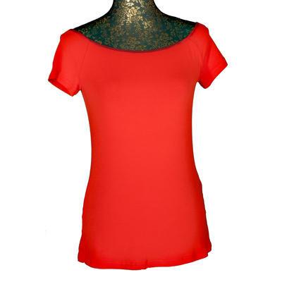Červené tričko s krátkým rukávem Marika - 1