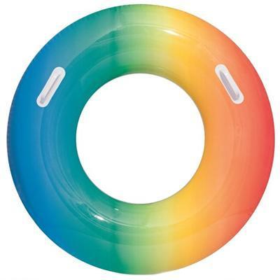 Nafukovací duhový kruh 91cm Melanie