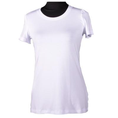 Bílé tričko s krátkým rukávem Paula - 1