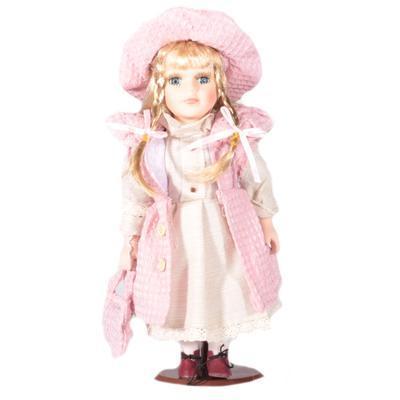 DOLL porcelánová panenka Bianka 30cm