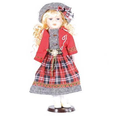 DOLL porcelánová panenka Kimm 40 cm