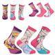 Vysoké holčíčí ponožky Frozen P6a - 1/4