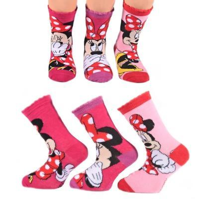 Klasické dívčí ponožky Minnie Mouse P4a - 1