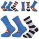 Klasické klučičí ponožky Superman P5c - 1/4