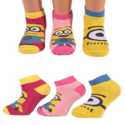 Holčičí kotníkové ponožky Mimoni P5b - 1