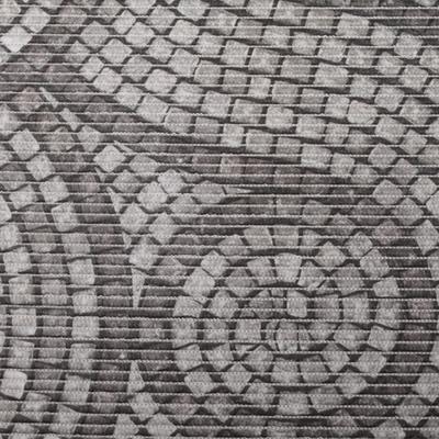 Gumová koupelnová rohož 65cm Dlažba - 1