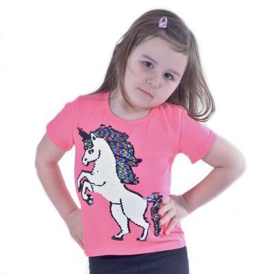 Měnící dívčí tričko Klaudie - 1