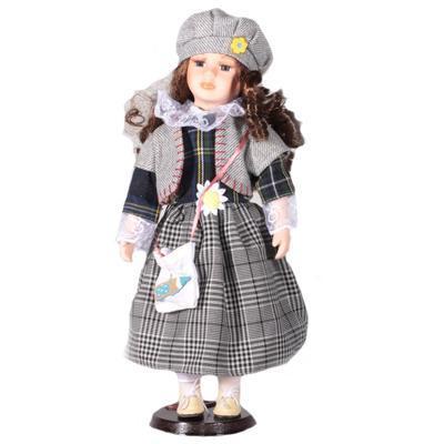DOLL porcelánová panenka Karina 40 cm